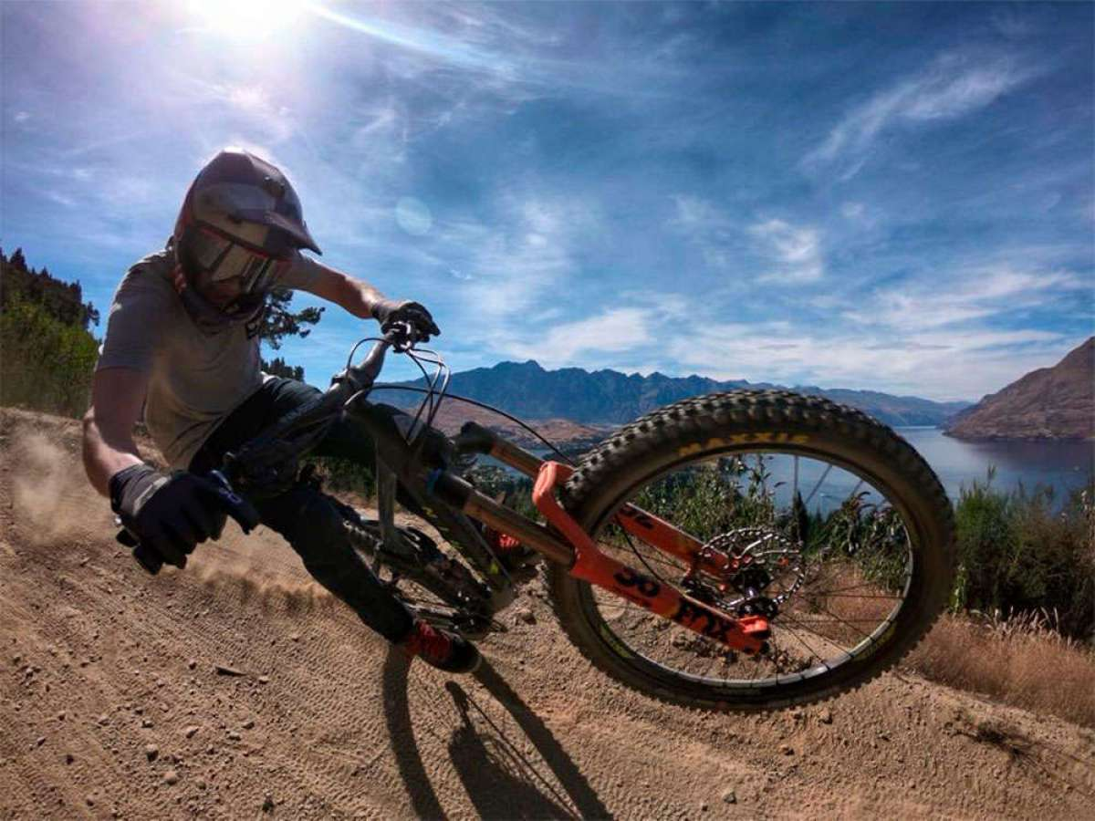Rodando por el Queenstown Bike Park (Nueva Zelanda) con Matt Jones