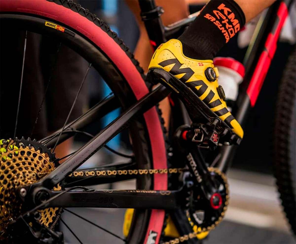 Las ruedas Mavic Crossmax Pro Carbon de 2019 se actualizan con llantas específicas para delante y detrás