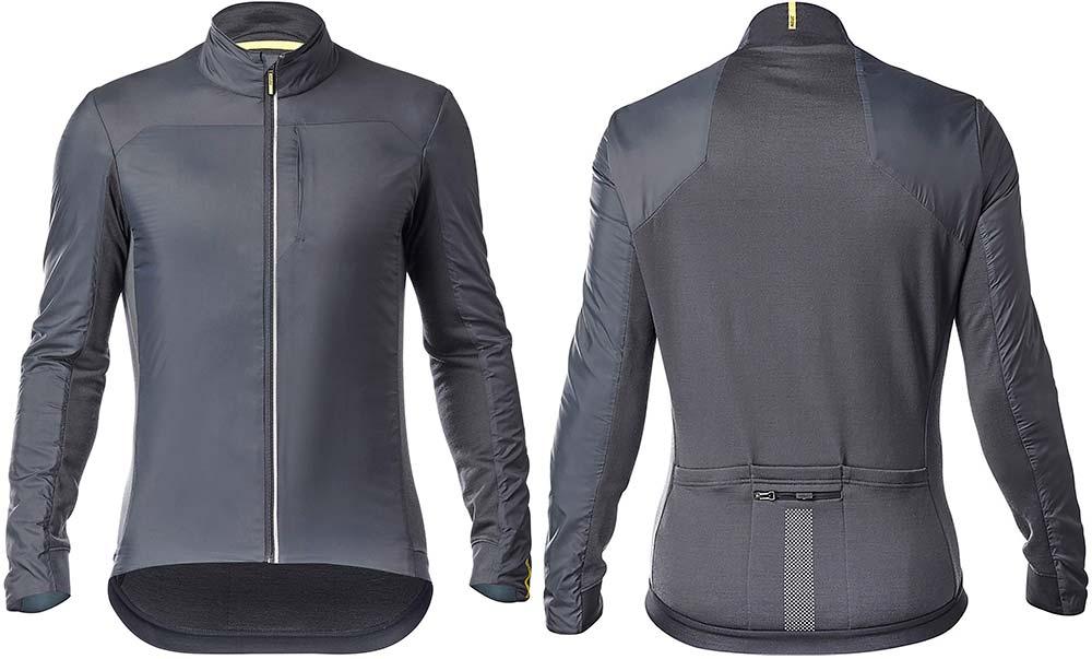 En TodoMountainBike: Mavic Essential Insulated SL, una elegante chaqueta de invierno para los ciclistas más exigentes