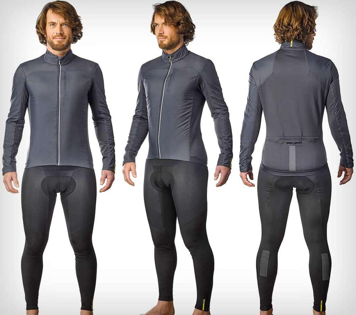 Mavic Essential Insulated SL, una elegante chaqueta de invierno para los ciclistas más exigentes
