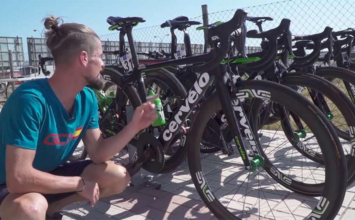 Un repaso a las mejores bicicletas de la Vuelta a España 2018