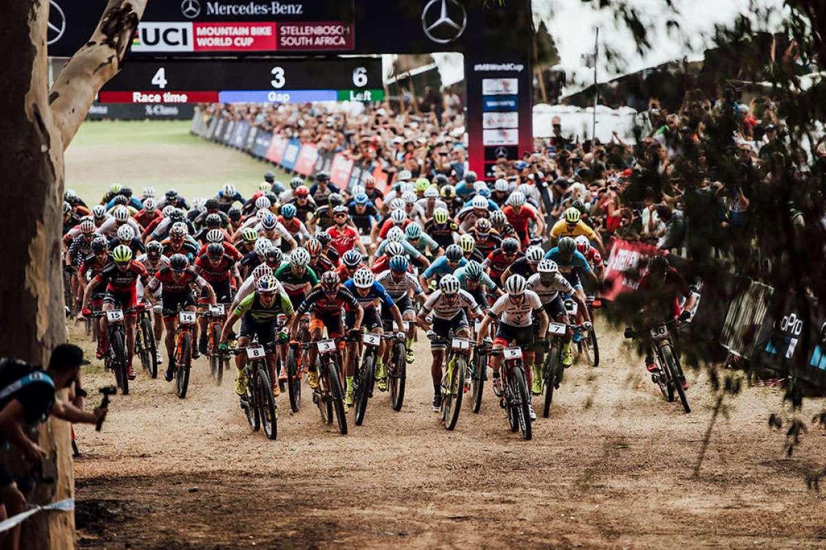 Las mejores imágenes de la Copa del Mundo XCO 2018 de Stellenbosch