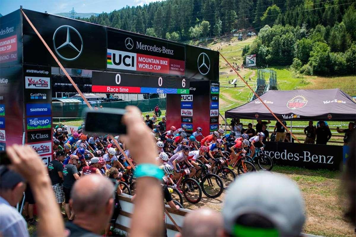 La Copa del Mundo XCO 2018 de Val di Sole, en imágenes