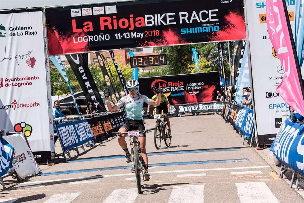 En TodoMountainBike: Los mejores momentos de la primera etapa de La Rioja Bike Race 2018