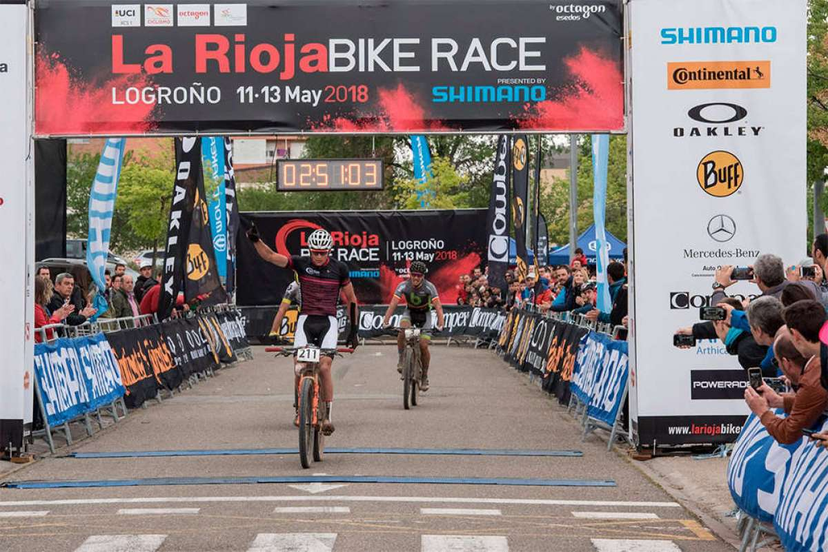 Los mejores momentos de la segunda etapa de La Rioja Bike Race 2018