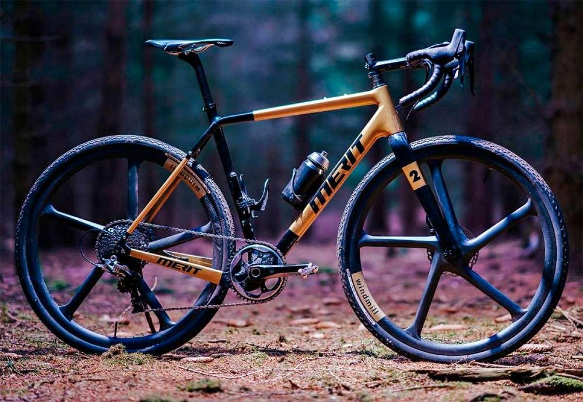 Merit Windmill, unas exclusivas ruedas de carbono con radios integrados para bicis de gravel