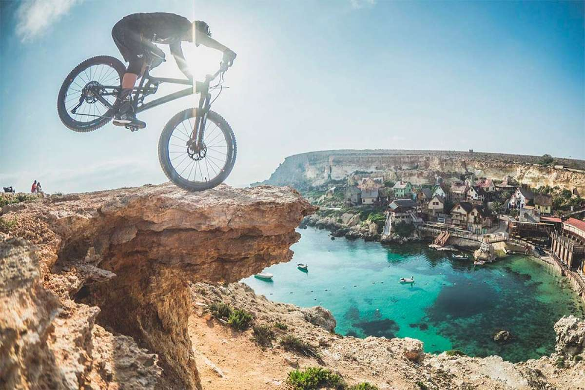 Mountain Bike en Malta con David Cachon y su Kross Soil EX