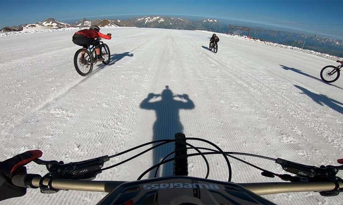 La Mountain of Hell 2018 al completo desde la bicicleta de Kilian Bron
