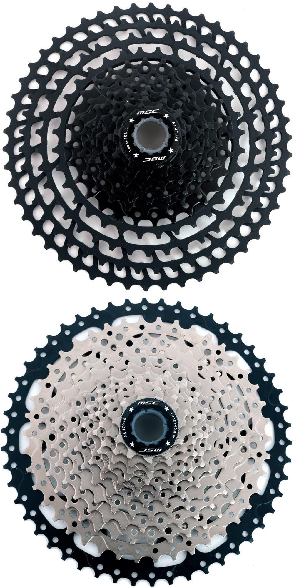 En TodoMountainBike: MSC Bikes lanza una completa gama de cassettes MTB de 12, 11, 10, 9, 8 y 7 velocidades