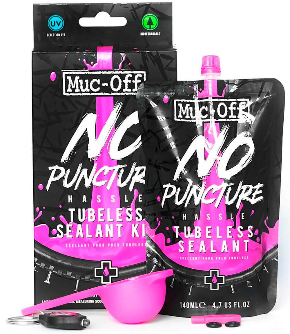 En TodoMountainBike: Muc-Off presenta el primer líquido sellante que reacciona a la luz UV para controlar cualquier pinchazo