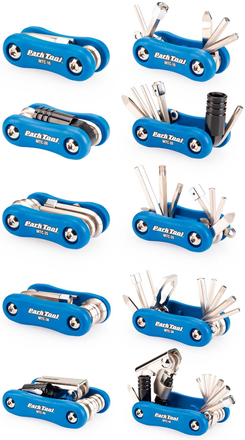 En TodoMountainBike: Park Tool se mete en el bolsillo de los ciclistas con cinco multiherramientas distintas