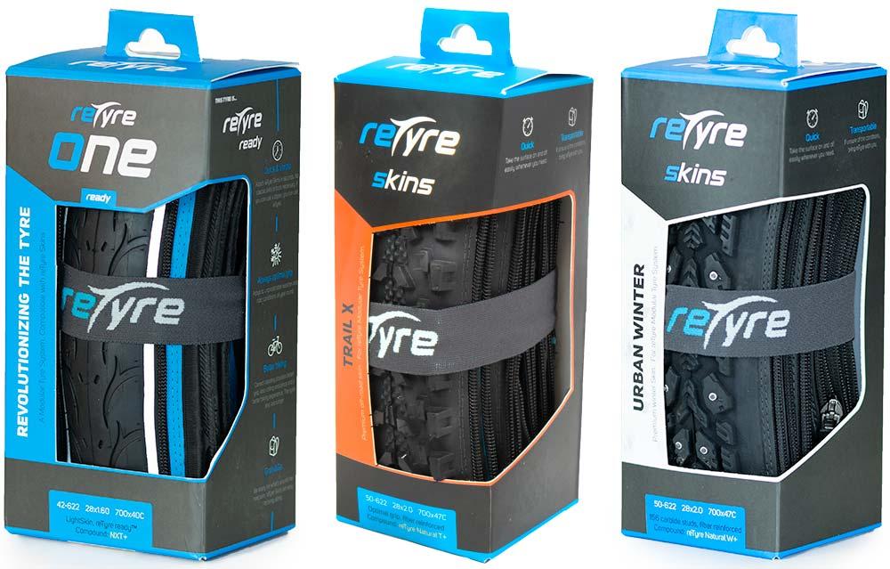 En TodoMountainBike: A la venta reTyre, el neumático con cremallera que permite cambiar la banda de rodadura al vuelo