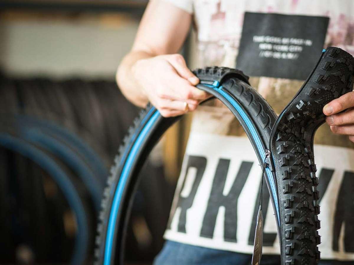 A la venta reTyre, el neumático con cremallera que permite cambiar la banda de rodadura al vuelo