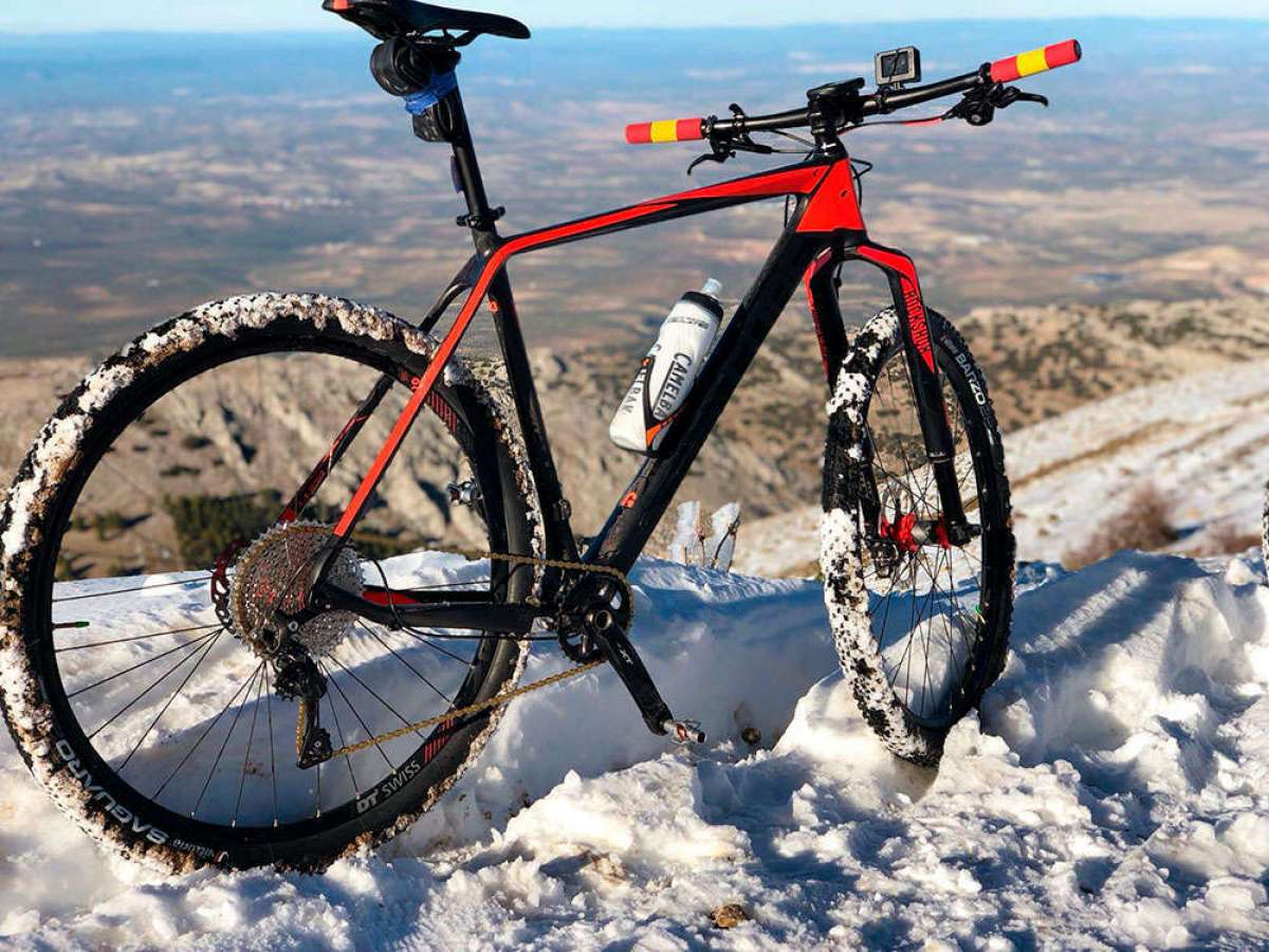 En TodoMountainBike: La foto del día en TodoMountainBike: 'Nevada en Jabalcuz'