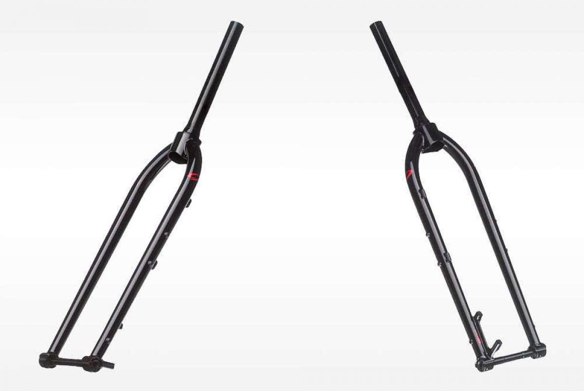En TodoMountainBike: ¿Una horquilla rígida económica? La Niner Steel Fork, fabricada en acero y compatible con ruedas Boost