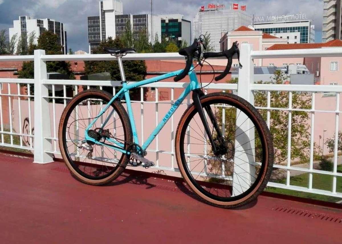 Nordest Cycles prepara su primera bicicleta de gravel, con cuadro de acero o de titanio a elegir