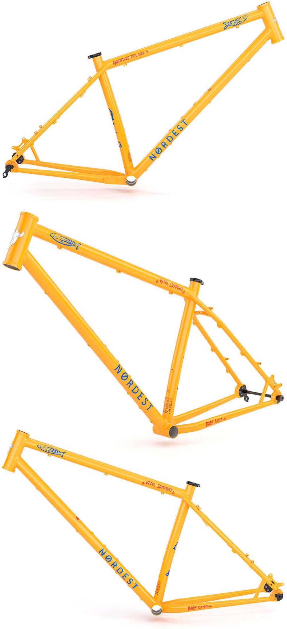 En TodoMountainBike: Nordest Sardinha, una bicicleta aventurera con geometría moderna y cuadro indestructible de acero