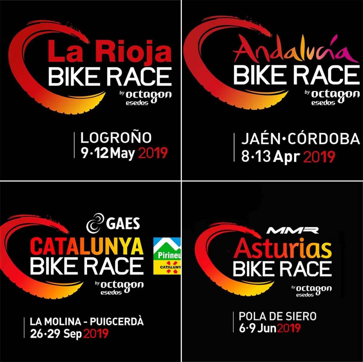 La Catalunya Bike Race y La Rioja Bike Race de 2019 tendrán cuatro etapas y categoría UCI XCS 2