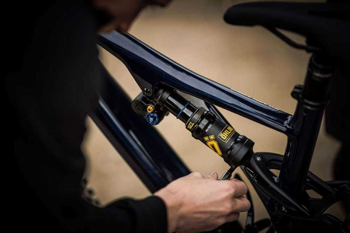 Öhlins presenta el TTX Air, un amortiguador de aire de alto rendimiento para bicis de Trail y Enduro