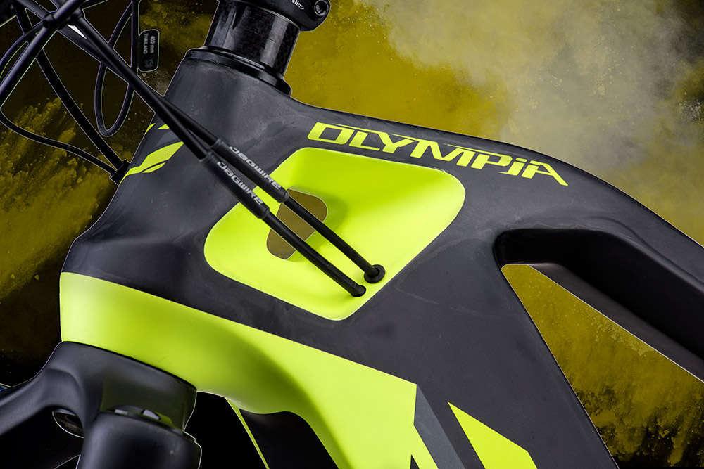 En TodoMountainBike: Olympia E1-X Carbon 8.0, la e-MTB más avanzada de la firma italiana