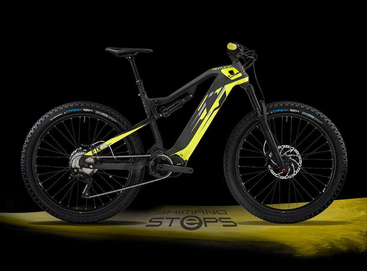 Olympia E1-X Carbon 8.0, la e-MTB más avanzada de la firma italiana