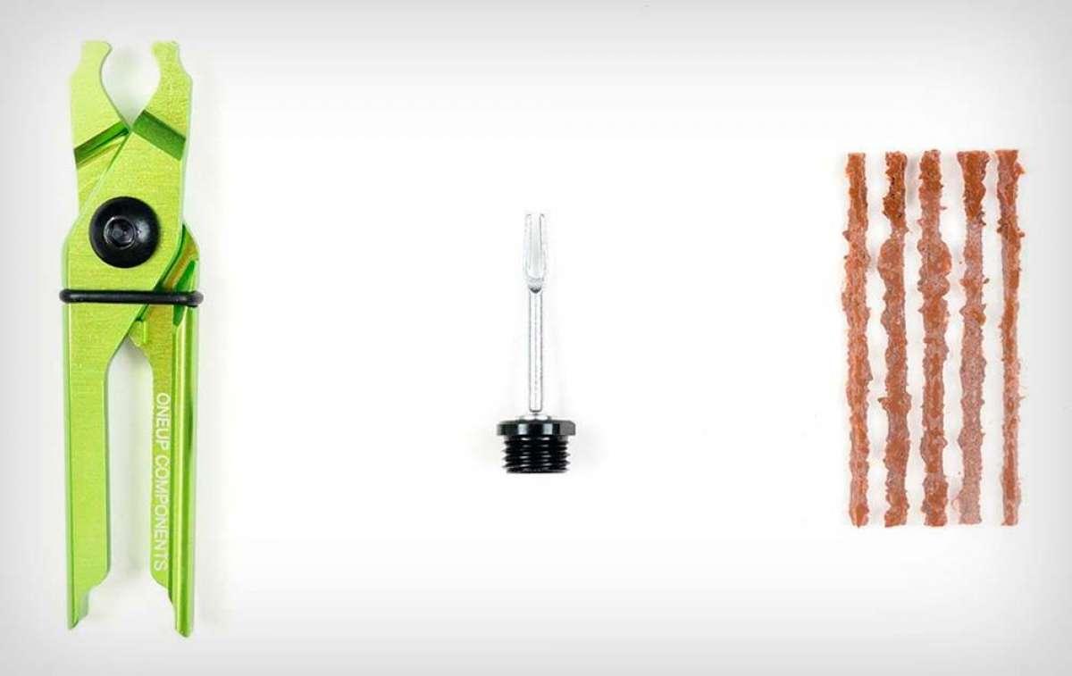 Más accesorios para la multiherramienta integrada OneUp EDC Tool: kit de mechas con extractor de eslabones