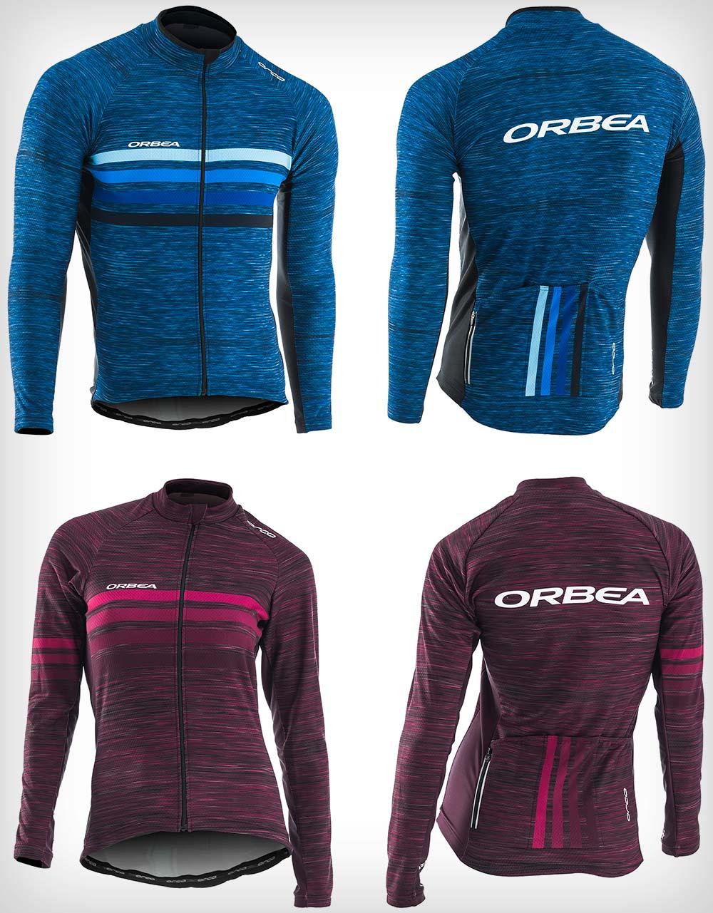 Orbea presenta su colección otoño-invierno de ropa técnica para ciclistas