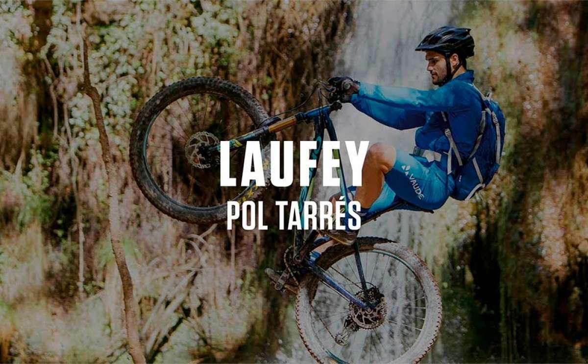 La Orbea Laufey en acción con Pol Tarrés