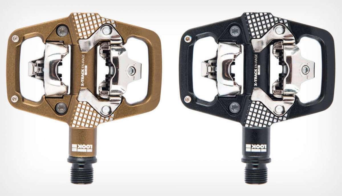 Look X-Track En-Rage, unos pedales mixtos para amantes del Trail y el Enduro