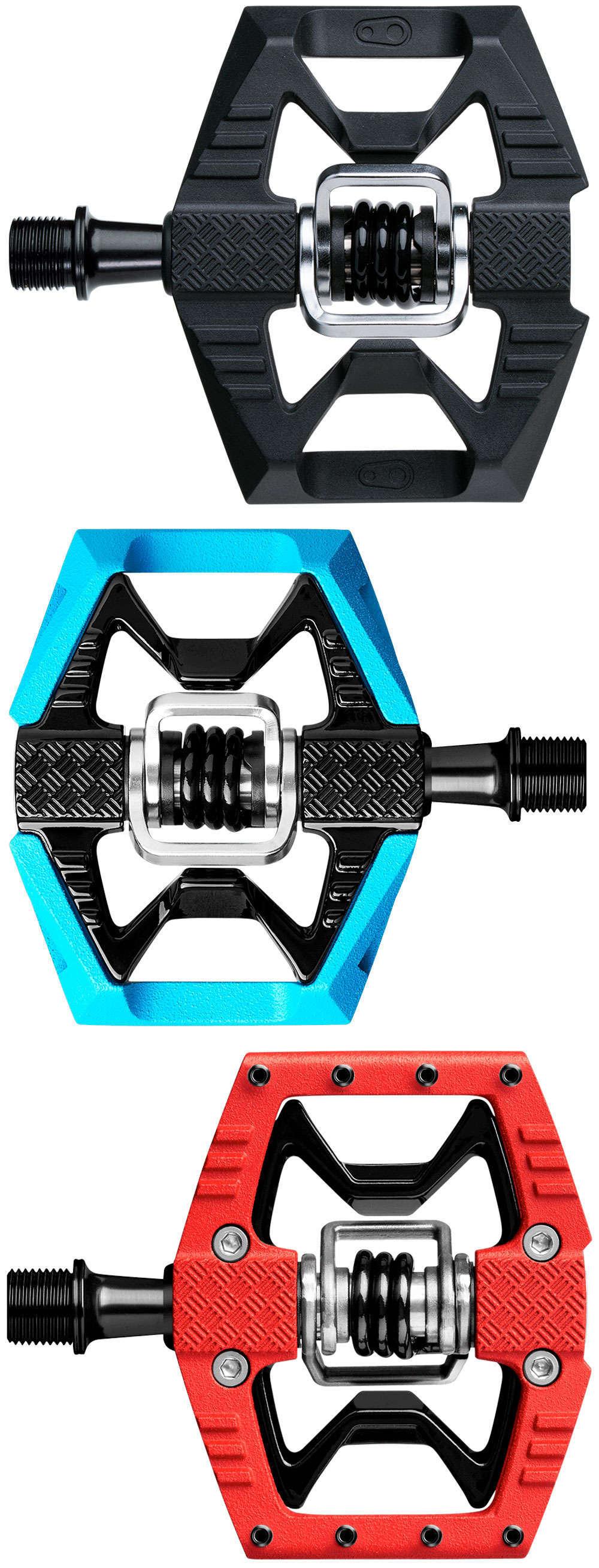 En TodoMountainBike: Crankbrothers Double Shot 1, unos pedales mixtos ideales para iniciarse con los automáticos