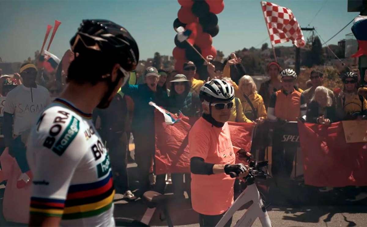 ¿Es más rápido Peter Sagan que una abuelita con una bicicleta eléctrica?