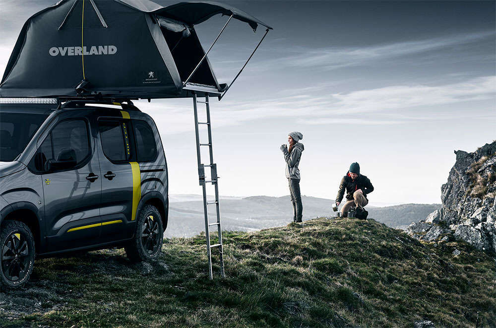 En TodoMountainBike: Peugeot Rifter 4x4 Concept, un todoterreno preparado para desafiar cualquier terreno