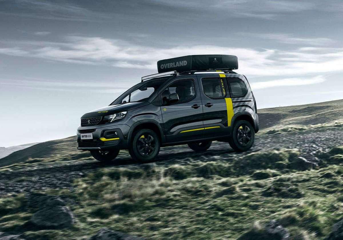 Peugeot Rifter 4x4 Concept, un todoterreno preparado para desafiar cualquier terreno