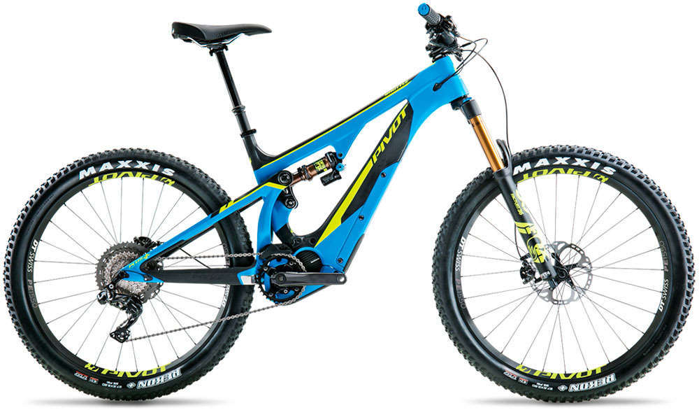 En TodoMountainBike: Pivot Shuttle, una agresiva e-MTB exclusiva para el mercado europeo