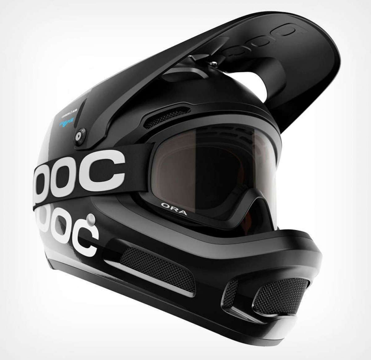 POC Coron Air Carbon Spin, un casco integral certificado para competiciones de Descenso y Enduro