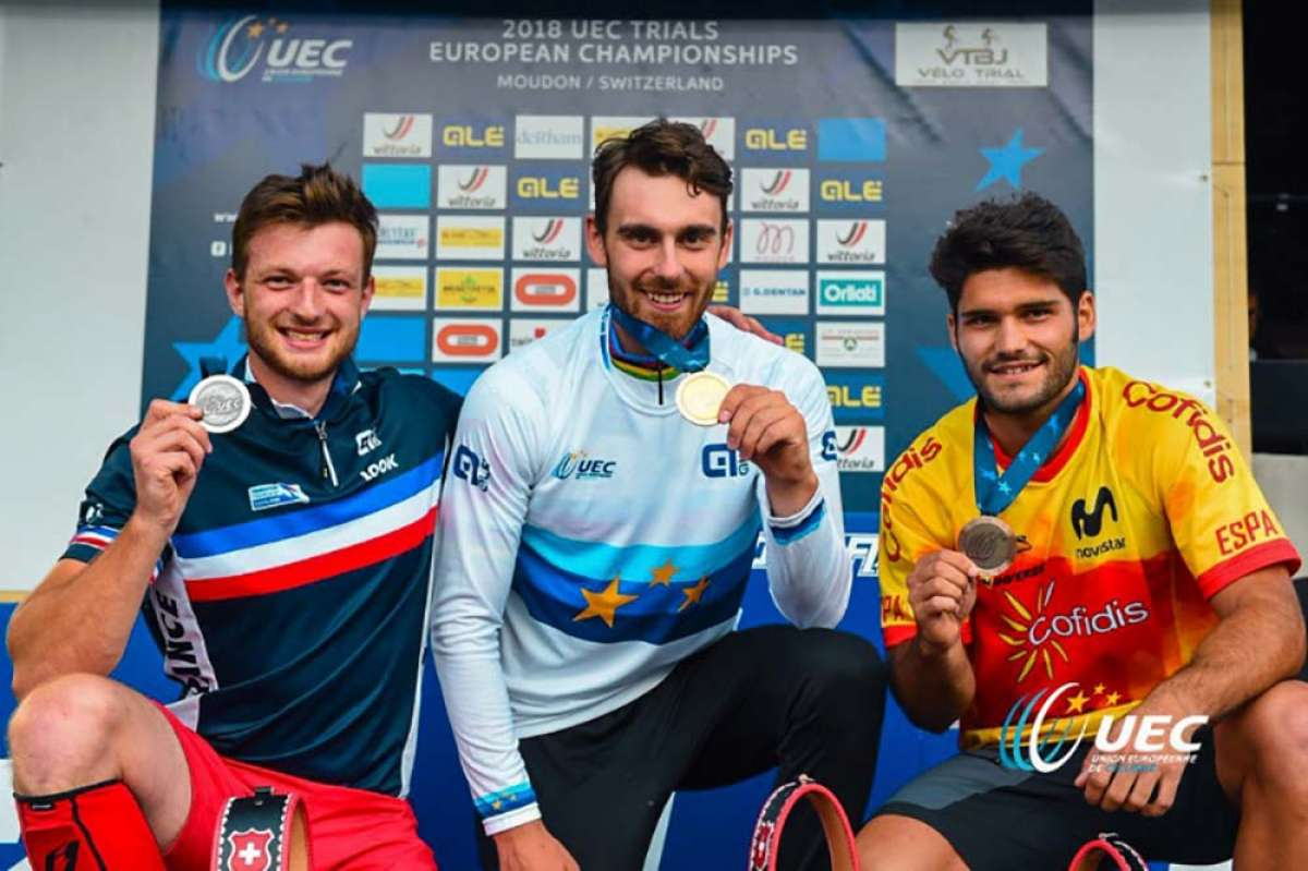 Pol Tarrés se lleva la medalla de bronce en el Campeonato de Europa de Trial UCI 2018
