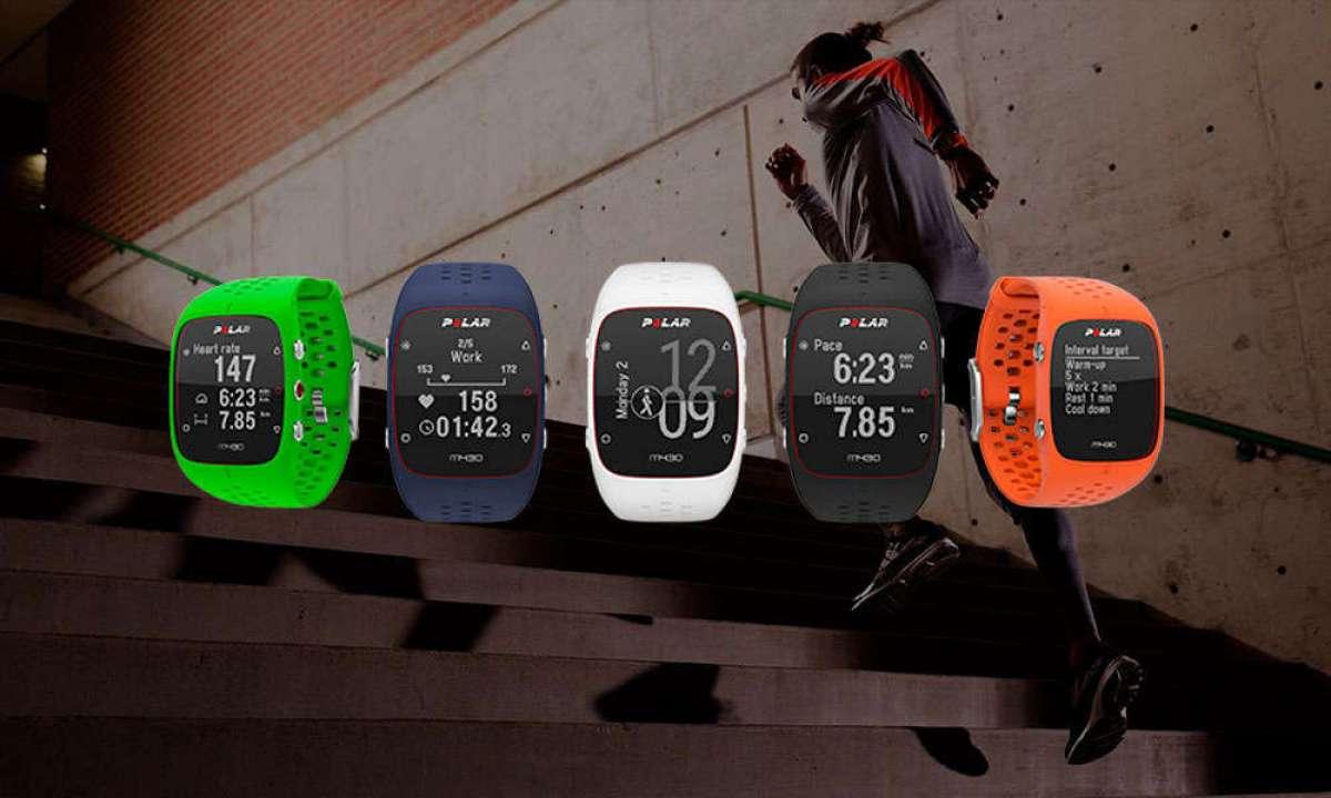 Más colores para el reloj deportivo Polar M430, ahora también en verde y azul