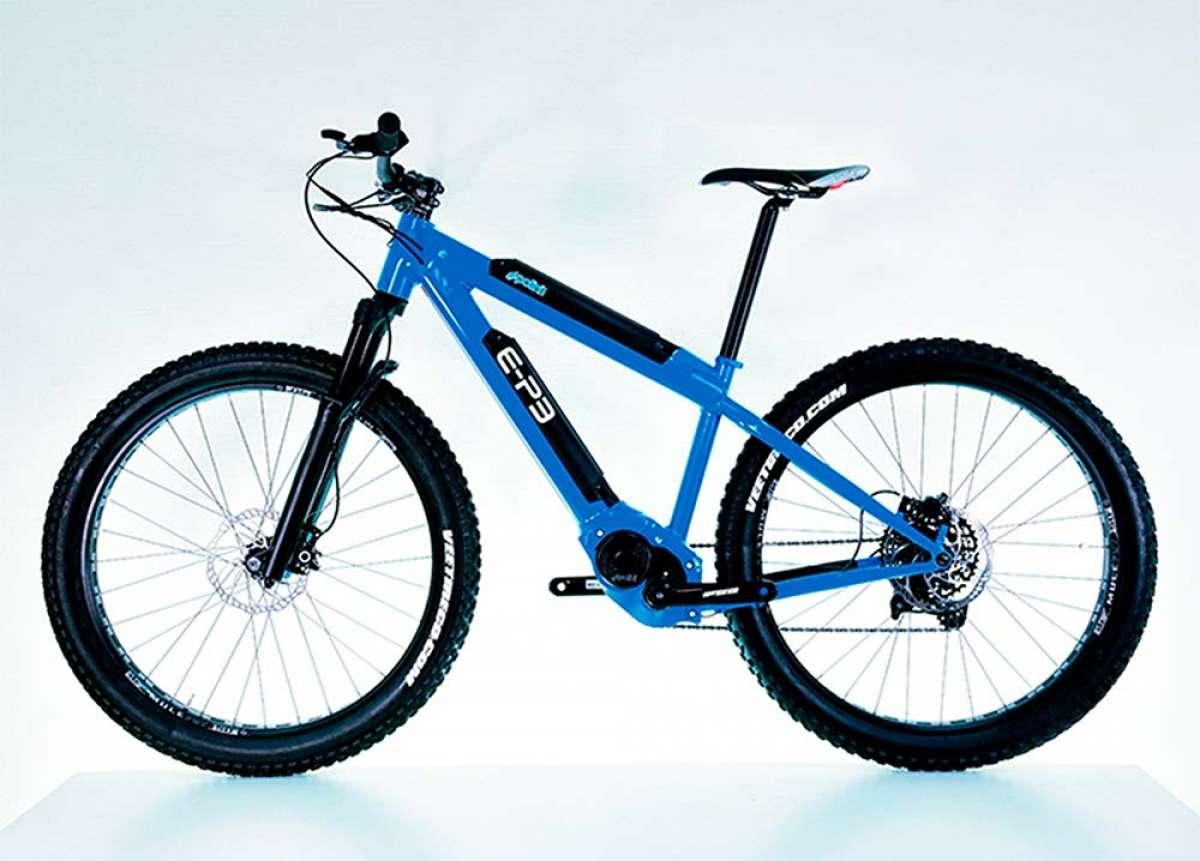 E-Bikes con más de 400 km de autonomía con el motor E-P3 con batería dual de Polini Motori