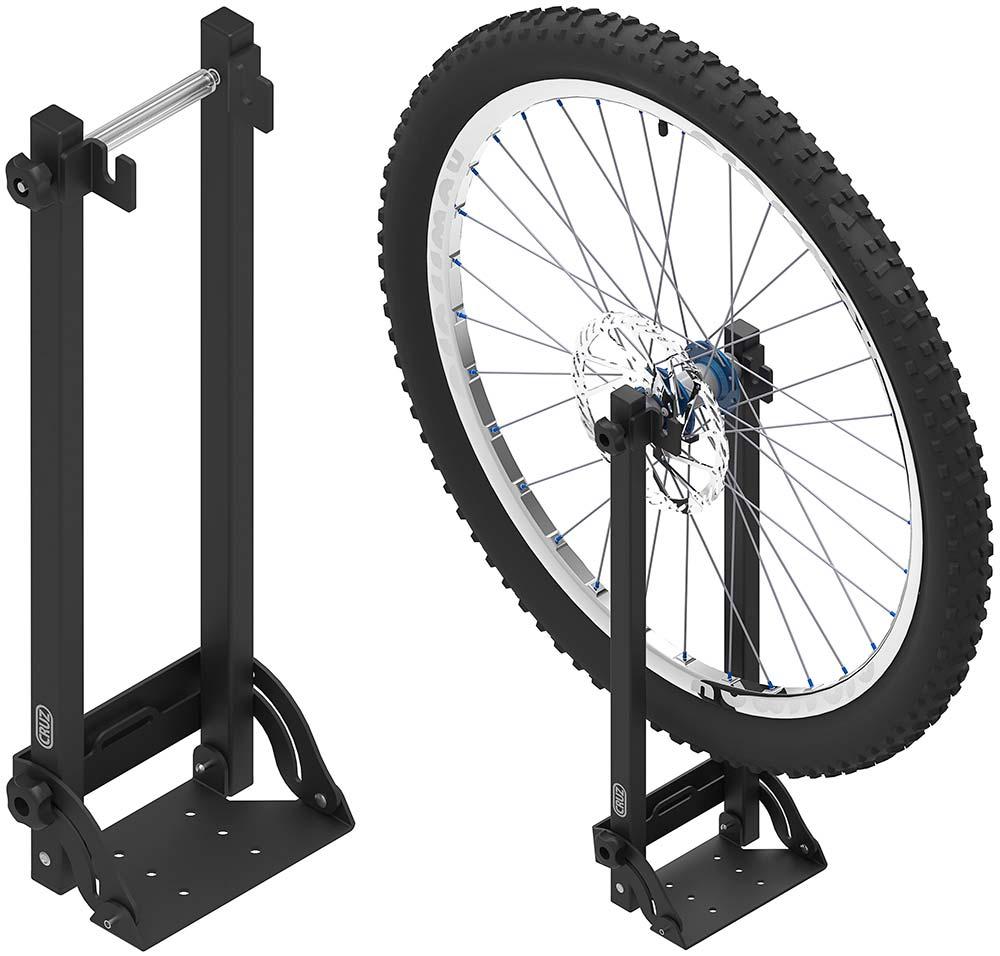 En TodoMountainBike: Más opciones para llevar la bici en el techo del coche: portabicicletas Cruz Race Dark y portarruedas Cruz Roof Wheel