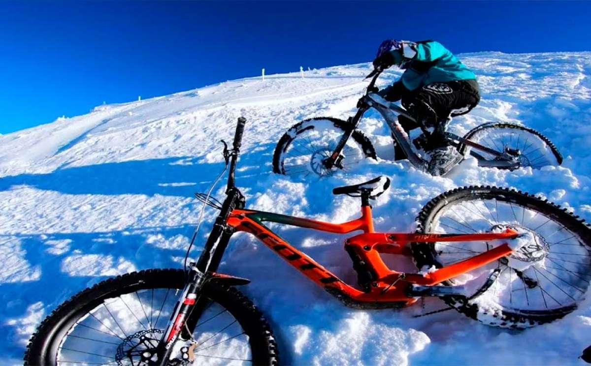 ¿Esquí o Mountain Bike? Vincent Tupin combina las dos cosas