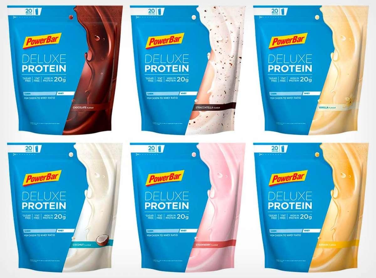 PowerBar lanza las Deluxe Protein, unas proteínas en polvo perfectas para mezclar con agua, leche o yogur