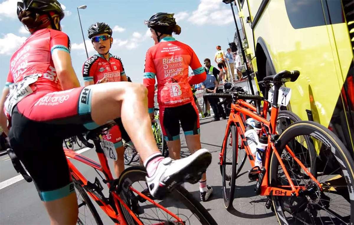 "Un día con el Bizkaia Durango-Euskadi Murias, un equipo ciclista femenino español de categoría UCI Women""s Team"