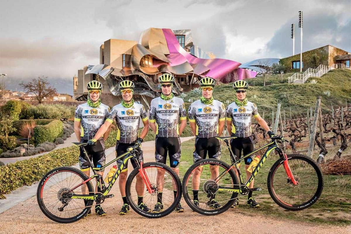 Luis Leao Pinto y Miguel Muñoz, las nuevas caras del BUFF SCOTT MTB Team 2018
