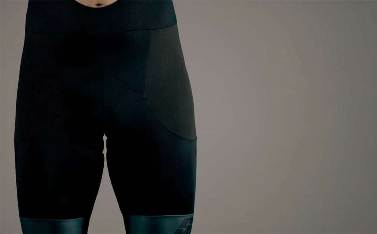 En TodoMountainBike: Así es el culotte Santini Impact con inserciones de tejido Dyneema antiabrasión