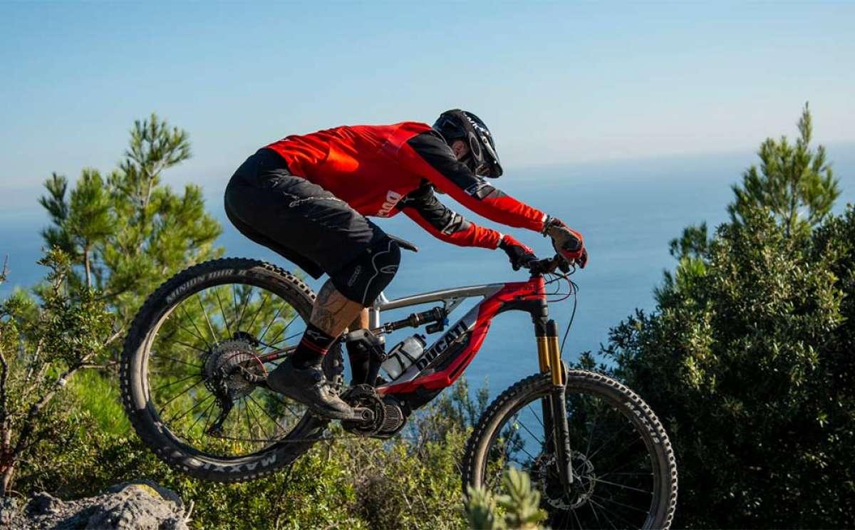 La Ducati MIG-RR en acción