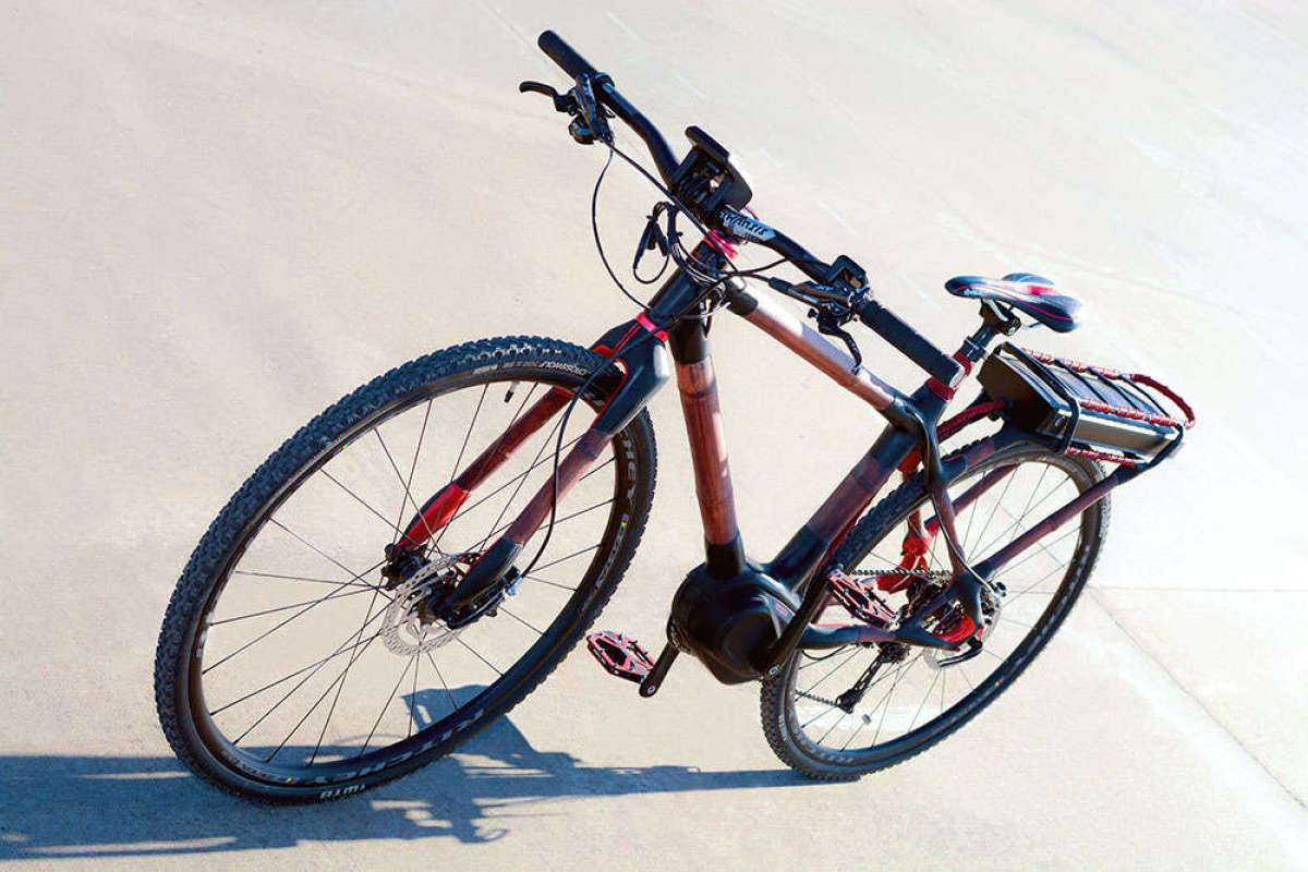 Así es la e-Bike Malón, la primera bicicleta eléctrica del mundo con cuadro de bambú