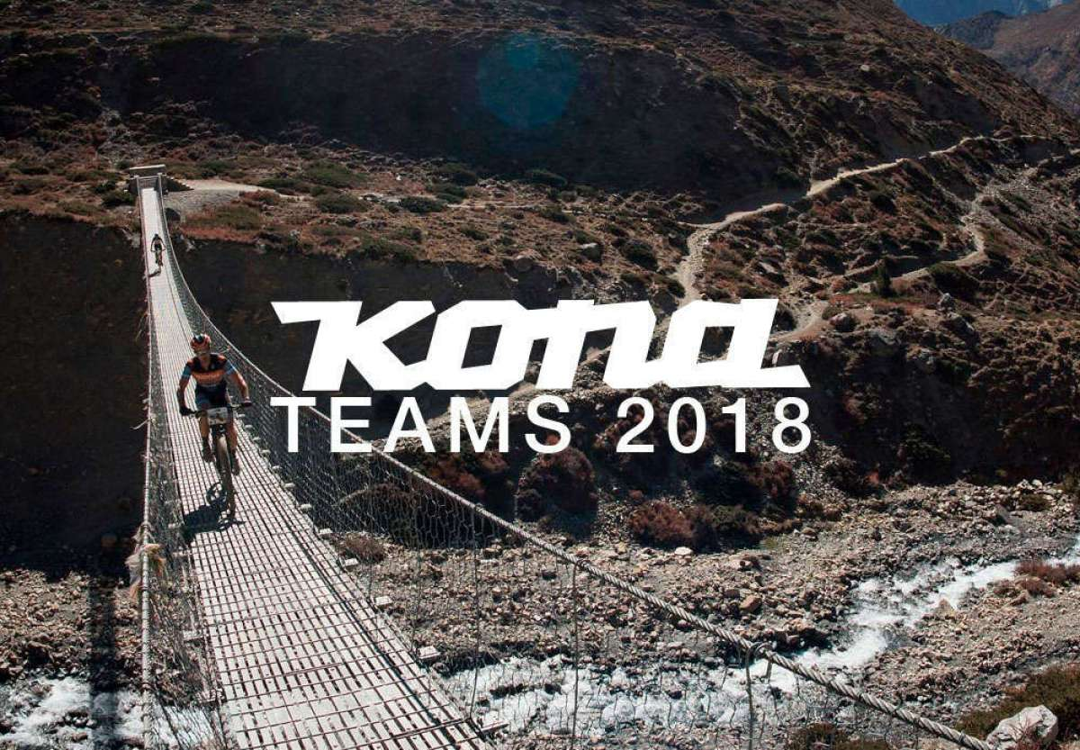 Presentados oficialmente el Kona Gravity Team, Kona Global Enduro Team y Kona Adventure Team de 2018