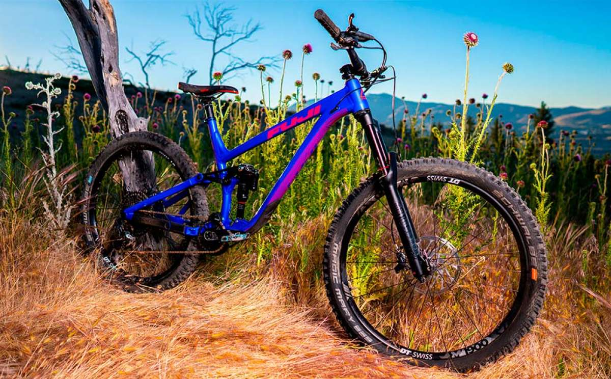 At TodoMountainBike: The 2019 Fuji Auric LT in action