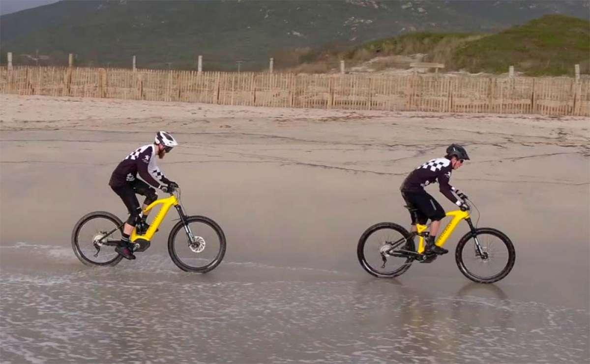 Las Peugeot eM02 Powertube en acción