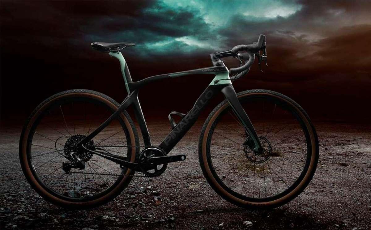 Pinarello presenta la Grevil, una 'Gravel Bike' de máxima eficiencia aerodinámica